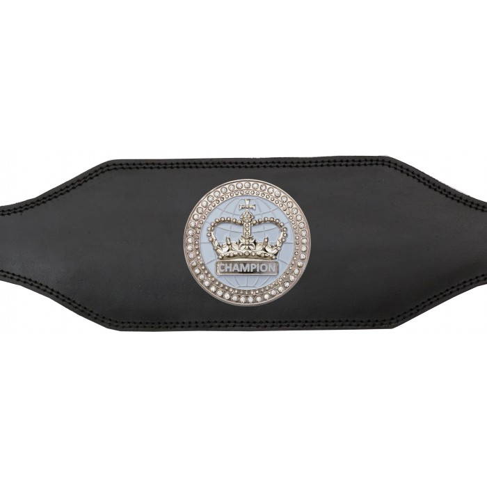 TITLE BELT - BUD001/WHTGEM - AVAILABLE IN 4 COLOURS